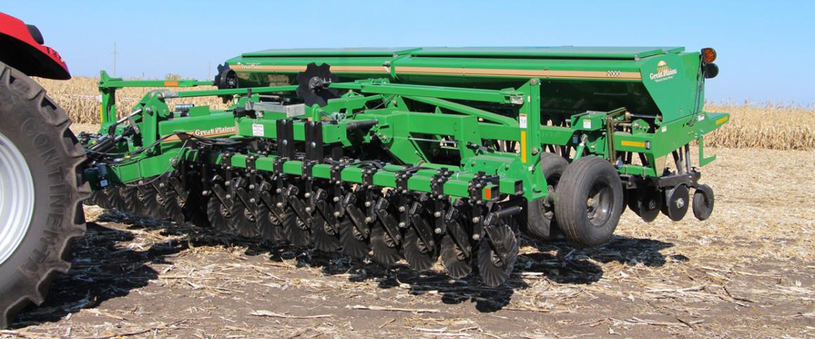 Стерневые механические сеялки Great Plains CPH-1500 и CPH-2000