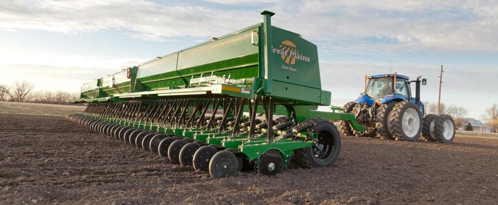 Механические зерновые сеялки Great Plains 3S-4000F и 3S-5000F