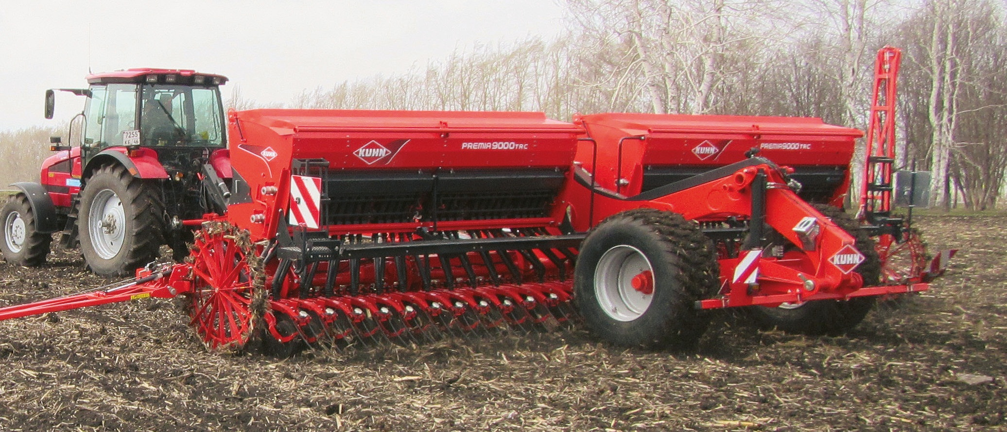 Механическая зерновая техника KUHN PREMIA 9000 TRC